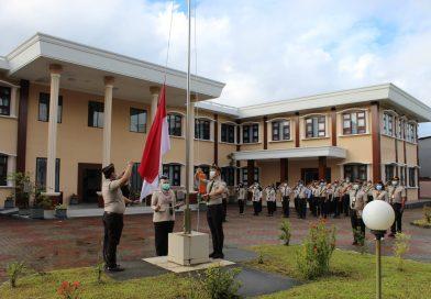 Pelaksanaan kegiatan APEL pagi Kantor Kesehatan Pelabuhan Ambon