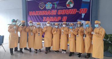 Capaian Vaksinasi Covid 19 – Kantor Kesehatan Pelabuhan Ambon dan Poltekkes Kemenkes maluku